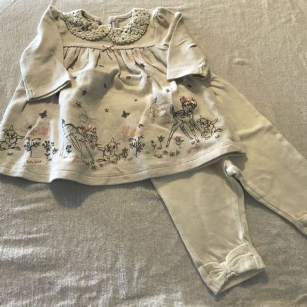 0-3 Month Bambi Dress and Leggings